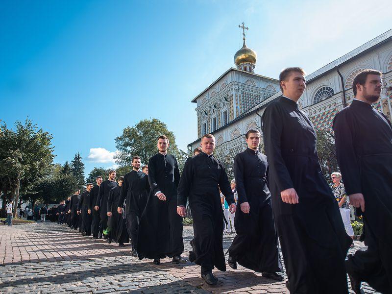 Внутренняя жизнь Московской духовной академии - экскурсия в Сергиевом Посаде