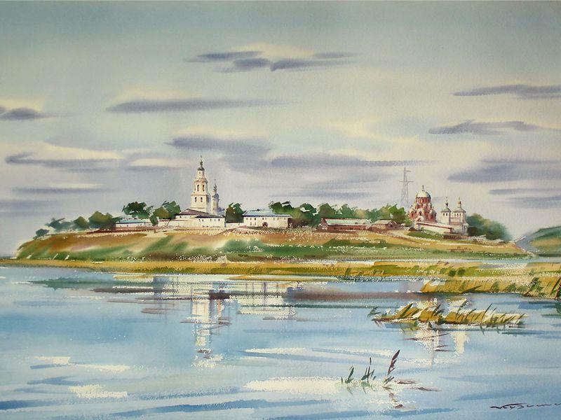 Остров-град Свияжск - экскурсия в Свияжске