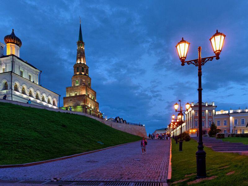 Магия вечерней Казани - экскурсия в Казани