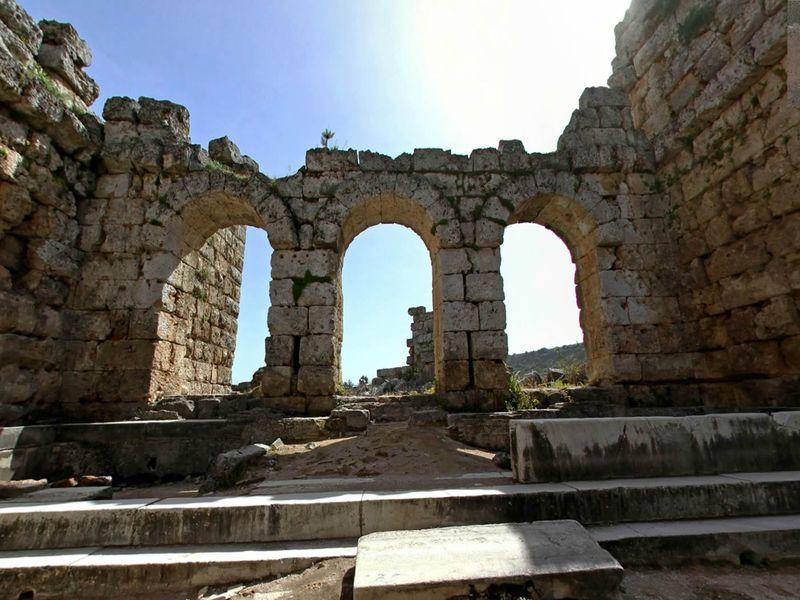 Из Алании — в Перге, Аспендос и Куршунлу - экскурсия в Аланье