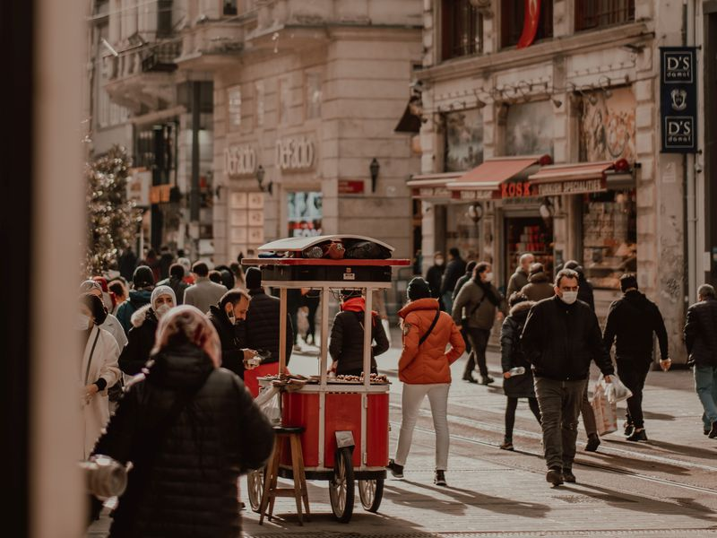 Стамбул атмосферный: районы Таксим иБейоглу - экскурсия в Стамбуле