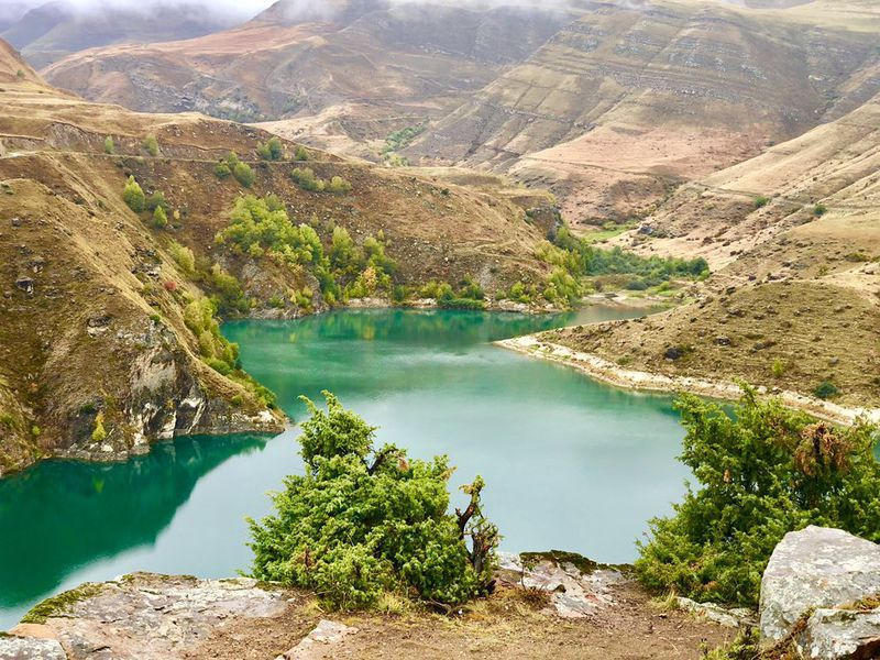 Джип-тур: Чегемские водопады, село Эльтюбю и озеро Гижгит - экскурсия в Кисловодске
