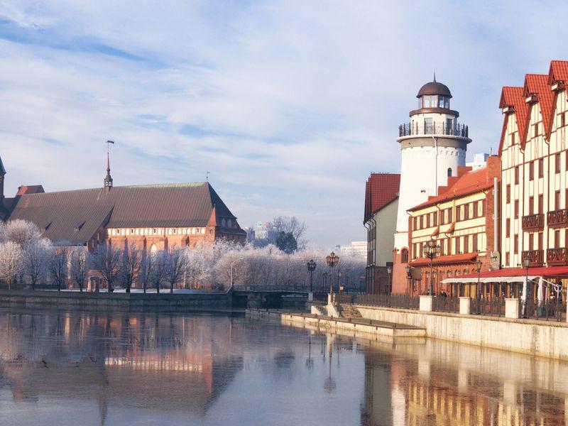 Город-тень Кнайпхоф - экскурсия в Калининграде