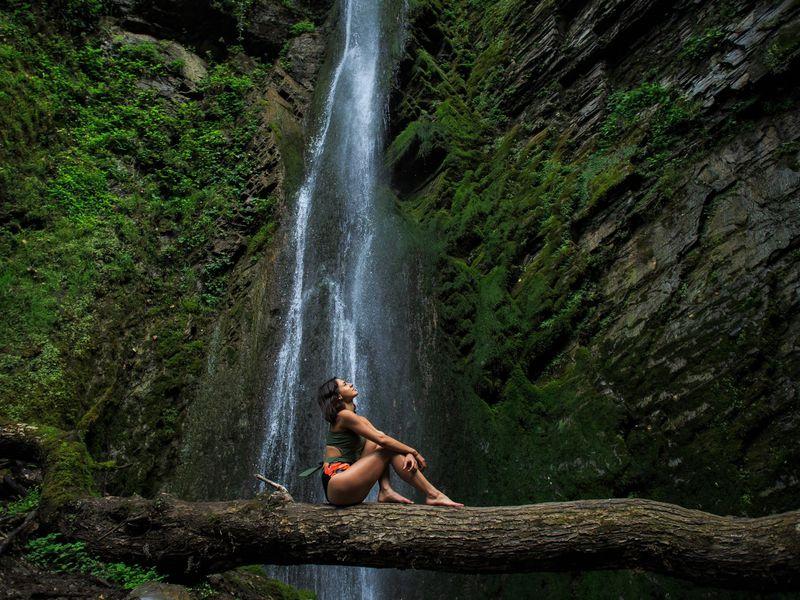 Фотопоход к таинственному водопаду Хрустальный - экскурсия в Сочи