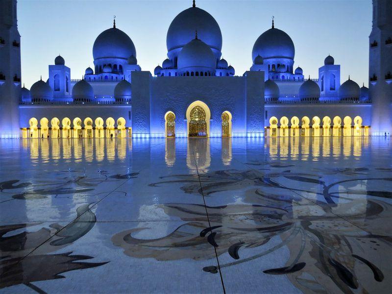 Магия вечернего Абу-Даби - экскурсия в Дубае