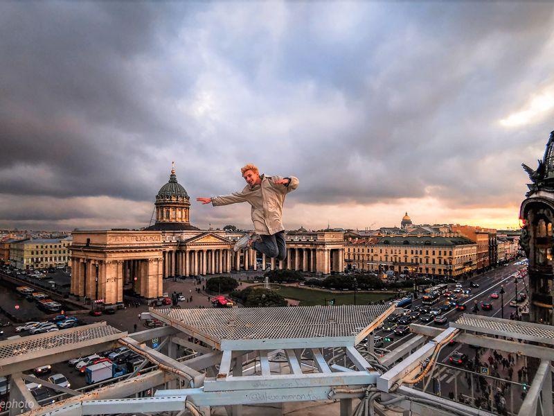 Город наладони: прогулка покрышам - экскурсия в Санкт-Петербурге