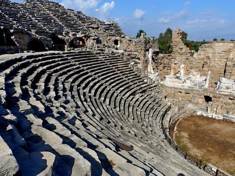 Тайны античного Сиде - экскурсия в Сиде