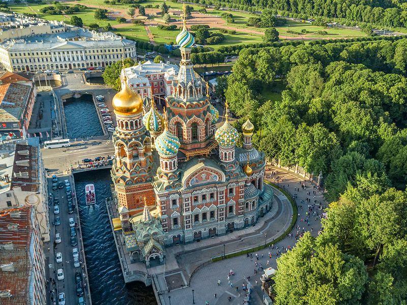 Спас наКрови: снаружи ивнутри - экскурсия в Санкт-Петербурге