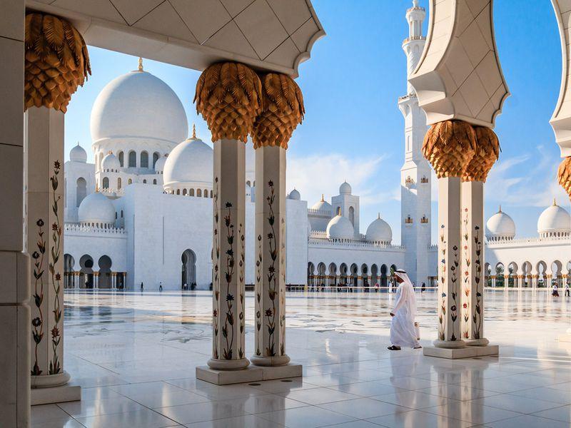 Навстречу чудесам Абу-Даби - экскурсия в Дубае