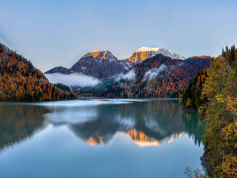 Из Сочи — на озеро Рица! - экскурсия в Сочи