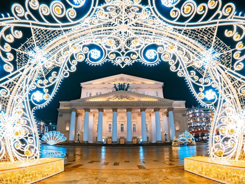Новогодние секреты вцентре Москвы - экскурсия в Москве