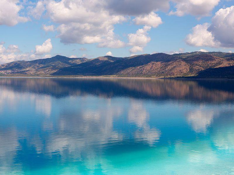 Групповая экскурсия кПамуккале иозеру Салда - экскурсия в Аланье
