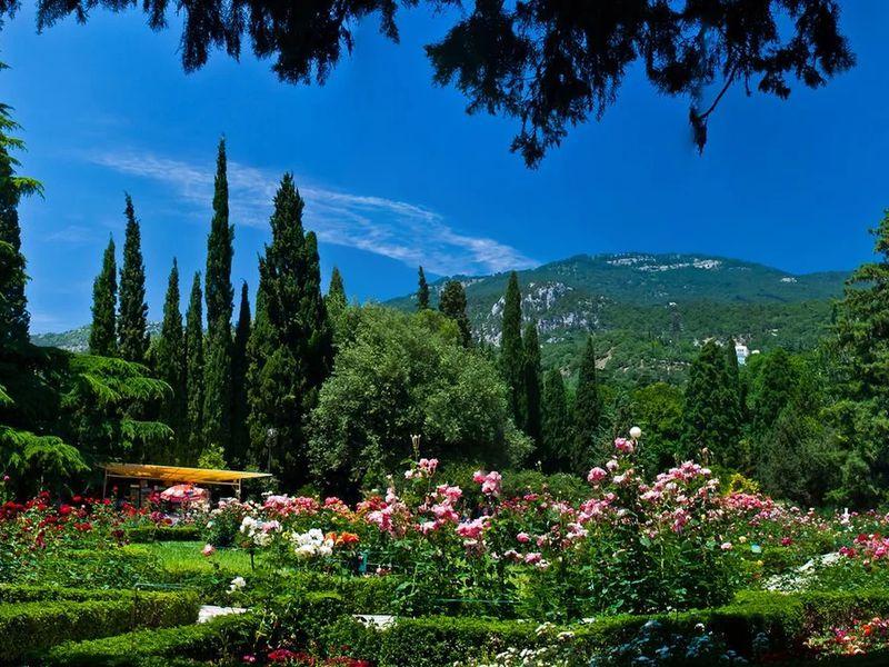 Никитский ботанический сад - экскурсия в Алуште