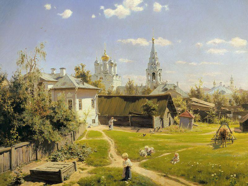 Прогулка по Москве «в компании» художников - экскурсия в Москве