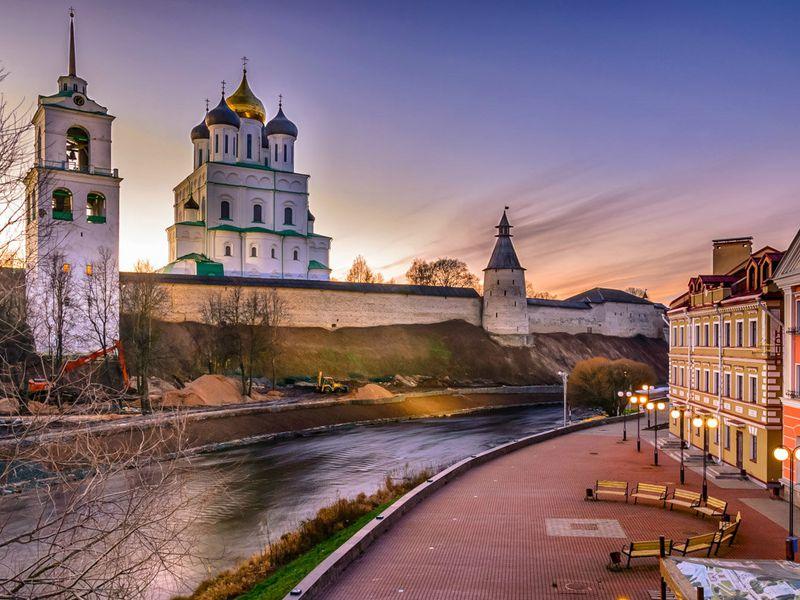 Псковские этюды - экскурсия в Пскове