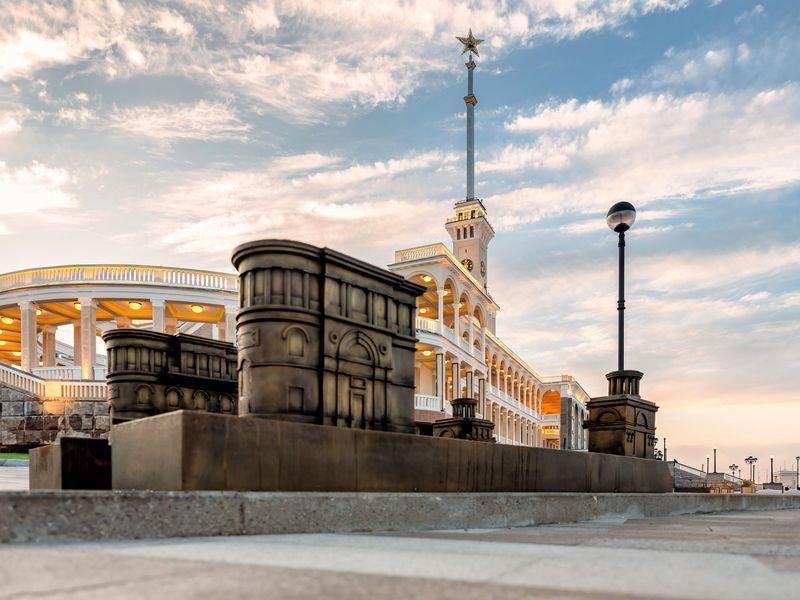 Экскурсия по Северному речному вокзалу - экскурсия в Москве