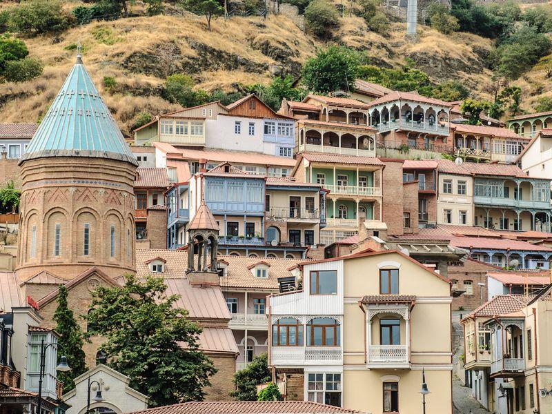 Тбилиси — первое свидание - экскурсия в Тбилиси
