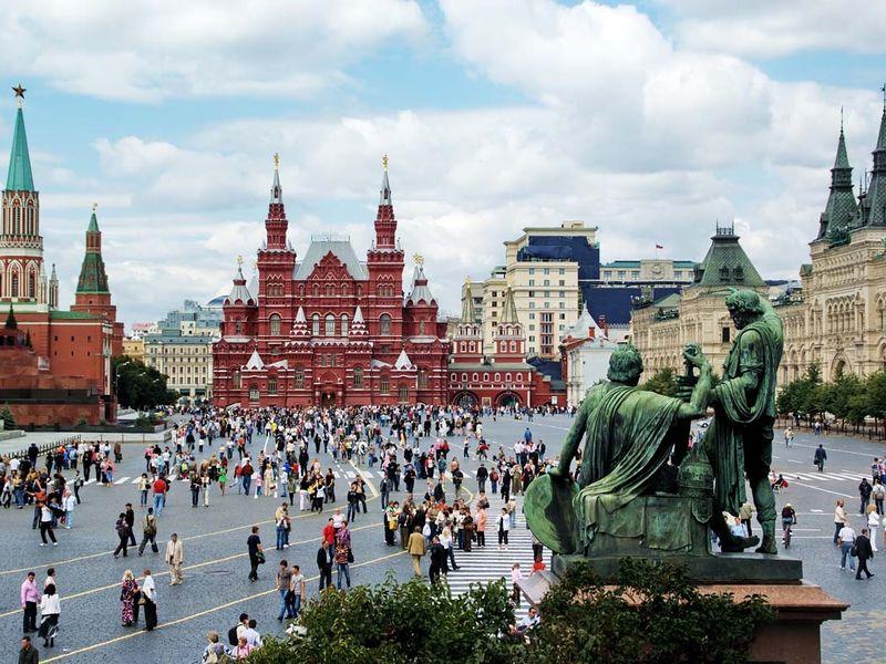 Знаки и символы вокруг Московского Кремля - экскурсия в Москве