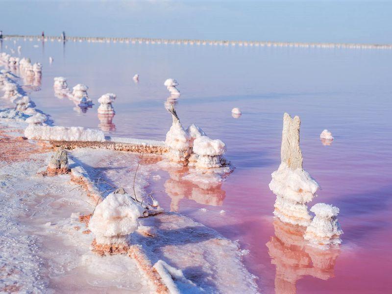 Путешествие крозовому озеру - экскурсия в Симферополе