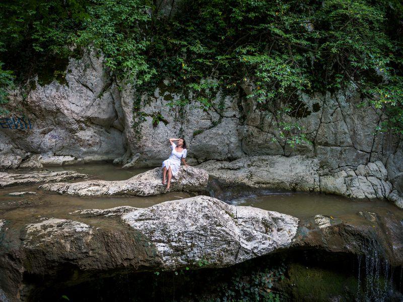 Фото-поход к Агурским водопадам - экскурсия в Сочи