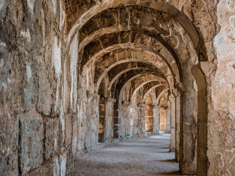 Из Сиде — в Перге, Аспендос и Куршунлу - экскурсия в Сиде