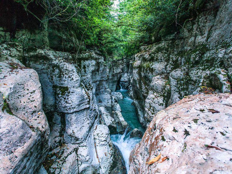 Каньон Белые скалы: в гостях у сказки - экскурсия в Адлере
