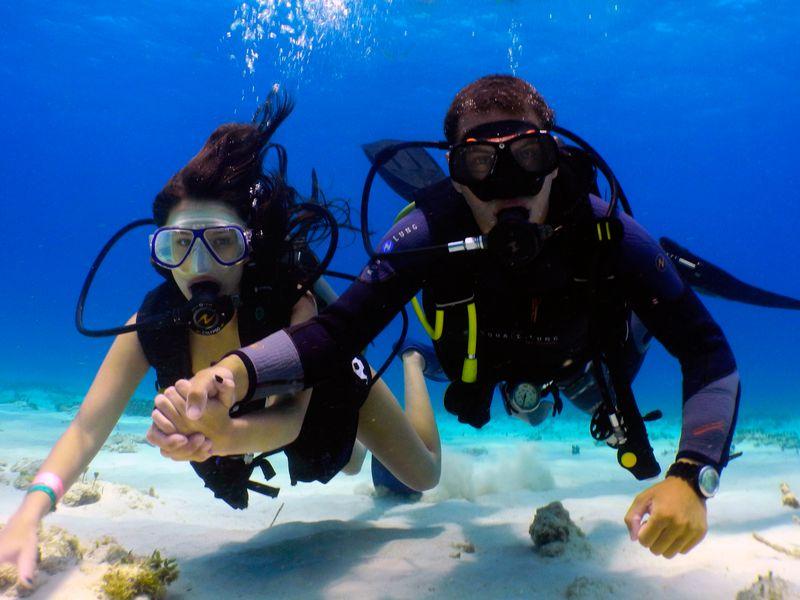 Дайвинг в Средиземном море из Сиде - экскурсия в Сиде