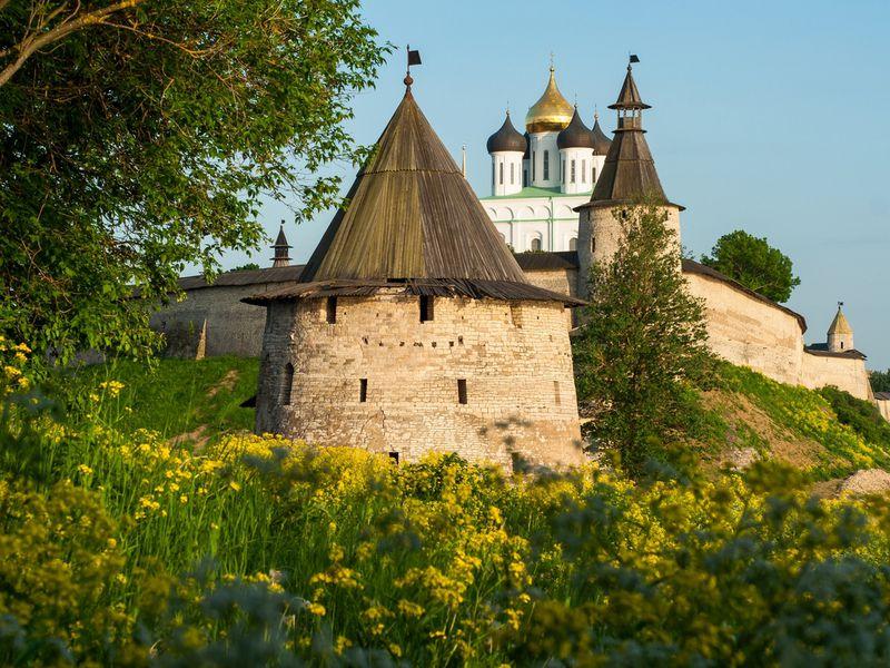 С Кремля начинается земля»: обзорная экскурсия по Пскову - экскурсия в Пскове