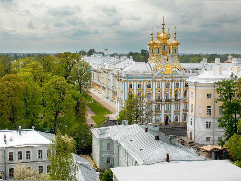 Царское Село – резиденция трёх императриц - экскурсия в Санкт-Петербурге