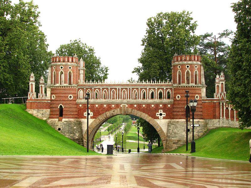 Неизвестное Царицыно - экскурсия в Москве
