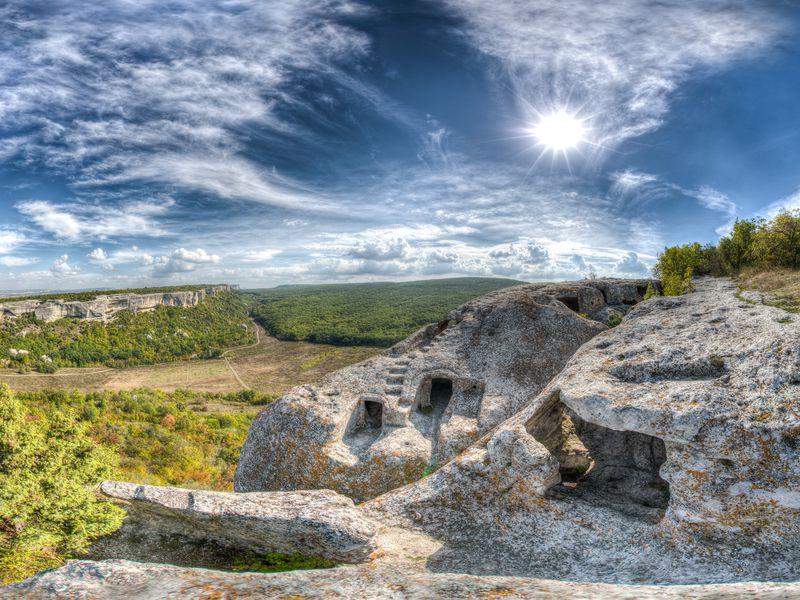 Живописное путешествие из Севастополя в Эски-Кермен - экскурсия в Севастополе