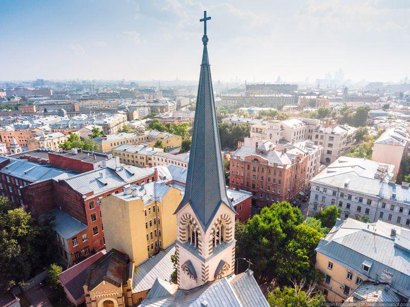 Москва, Moscow, Mosca: столица с акцентом - экскурсия в Москве