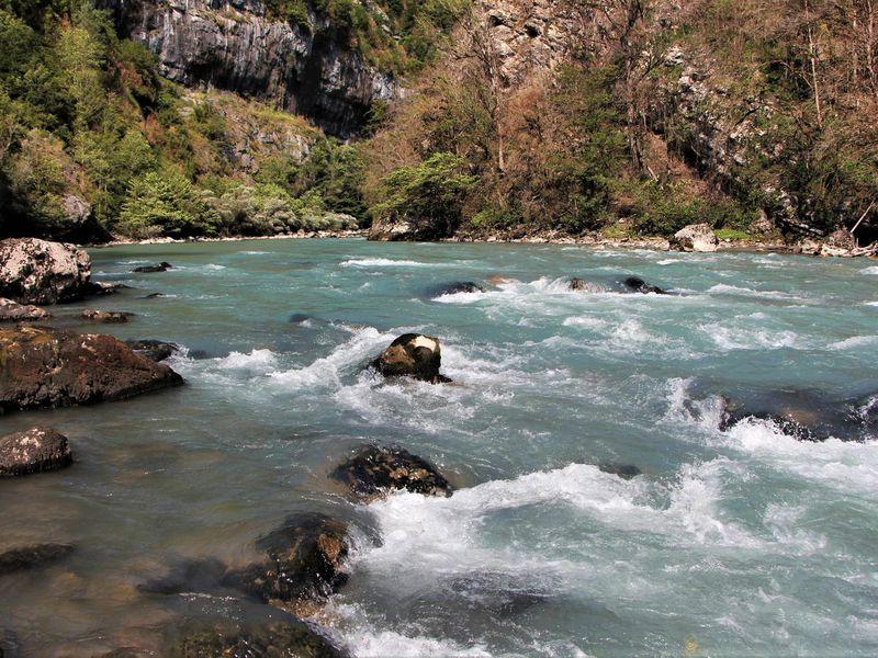 Рыбалка на горных реках из Гагры - экскурсия в Гаграх