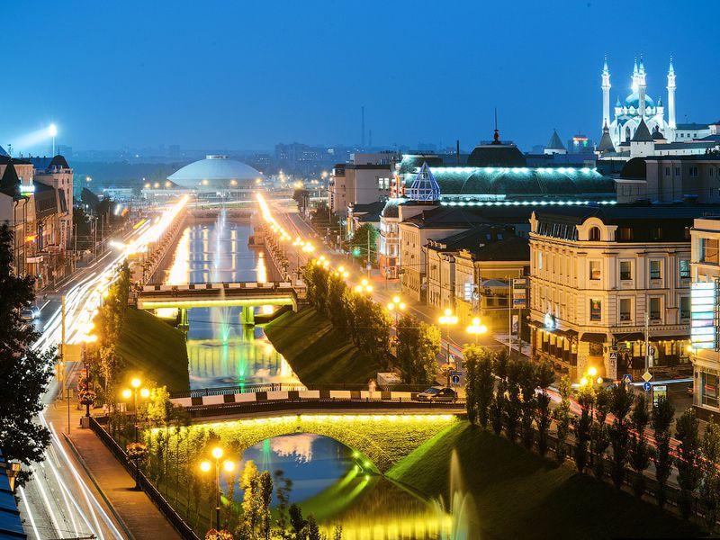 Ночная прогулка поКазани свинной дегустацией - экскурсия в Казани