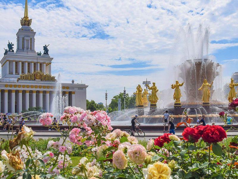ОтВДНХ доВВЦ: тогда исейчас - экскурсия в Москве
