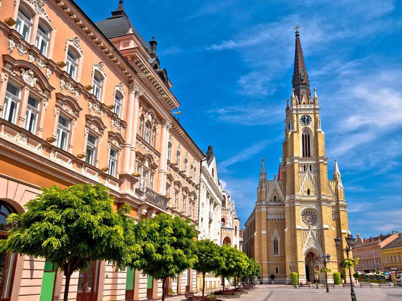 Северная Сербия: Нови-Сад, монастырь Крушедол иСремски-Карловцы - экскурсия в Белграде