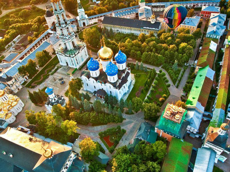 Сергиев Посад: возле стен монастырских - экскурсия в Сергиевом Посаде
