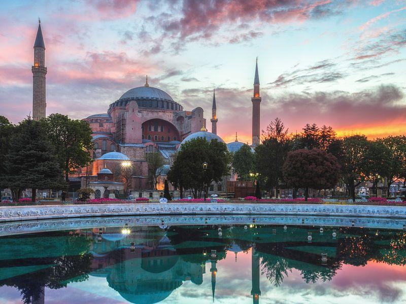 Айя-София, Голубая мечеть и Ипподром - экскурсия в Стамбуле