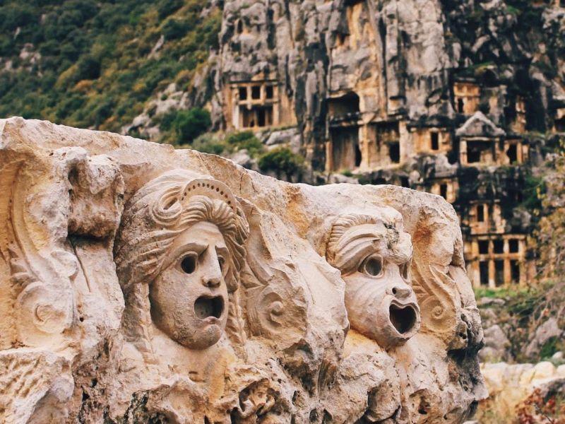 ИзАлании— поместам античной Ликии. Демре-Мира-Кекова - экскурсия в Аланье