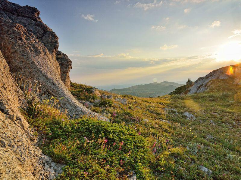 Закат на вершине Южной Демерджи - экскурсия в Алуште