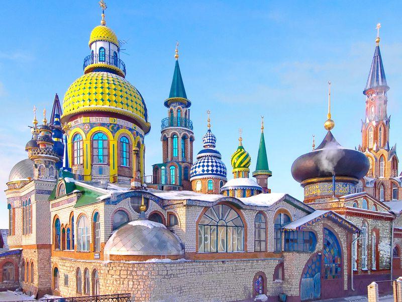Символы Казани иХрам всех религий - экскурсия в Казани