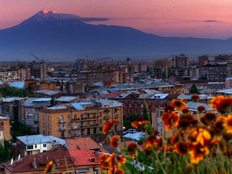 Вечерняя прогулка по Еревану - экскурсия в Ереване