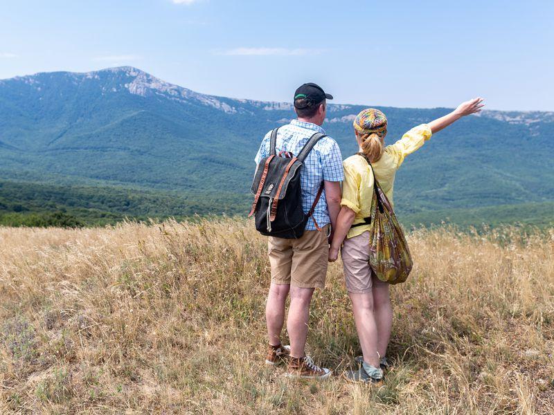 Прогулка по горам Кудрявая Марья и Лысый Иван - экскурсия в Алуште