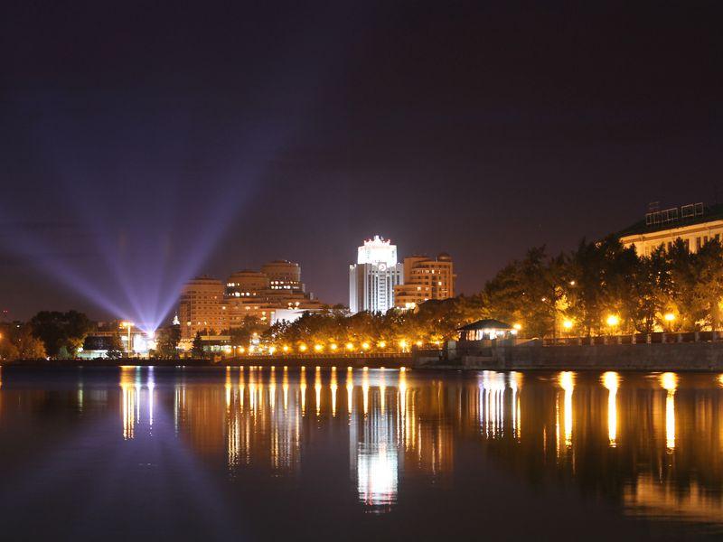 Ночной Екатеринбург - экскурсия в Екатеринбурге