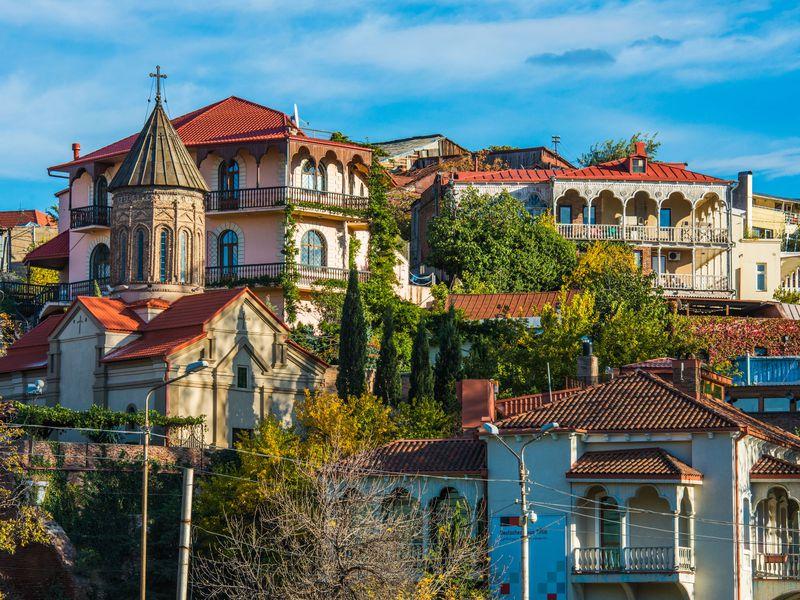 Сердце Тбилиси— душа Кавказа - экскурсия в Тбилиси