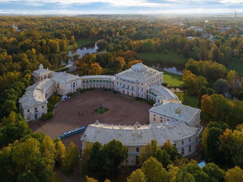 Павловский дворец— любимая усадьба императора - экскурсия в Санкт-Петербурге