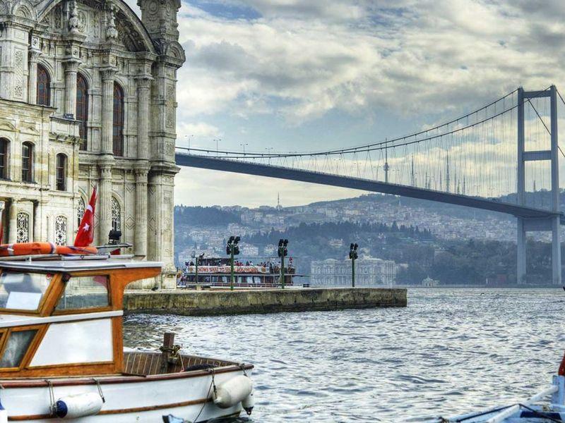 Город двух континентов пешком и на автобусе - экскурсия в Стамбуле
