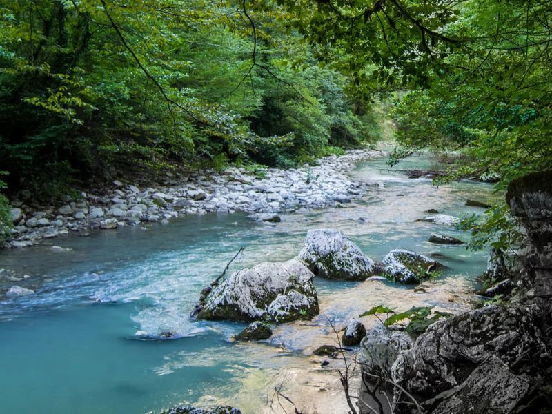 Дивное ущелье реки Хоста - экскурсия в Сочи