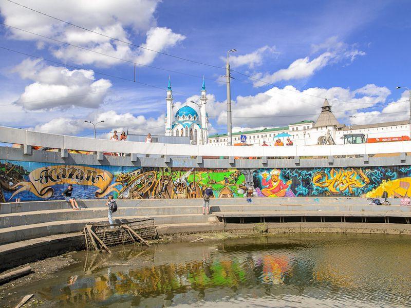 Казанский стрит-арт - экскурсия в Казани