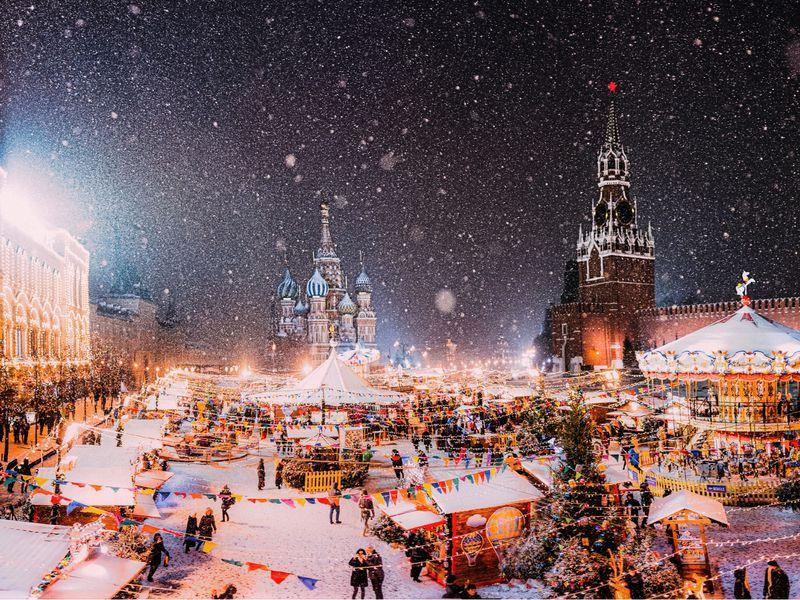 С Новым годом, Москва! - экскурсия в Москве